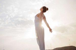 how do i do the inner work - woman taking breath in sunlight